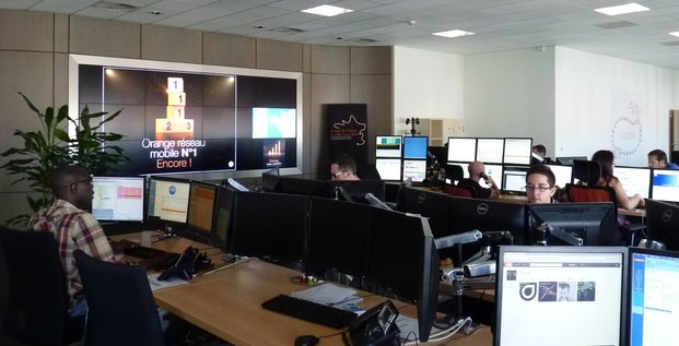 Centre de supervision d'Orange