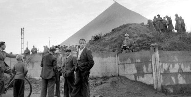 La grève des mineurs en 1948