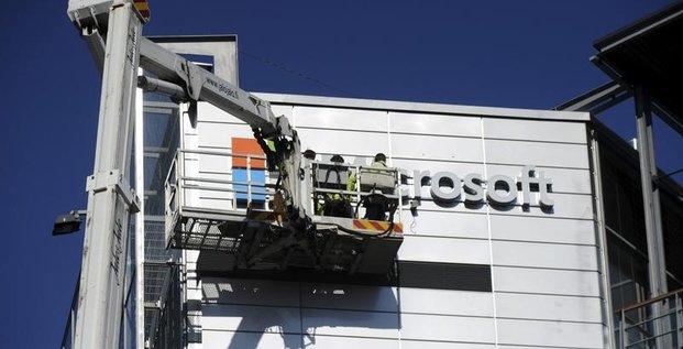 Microsoft compterait supprimer 1.000 emplois en Finlande