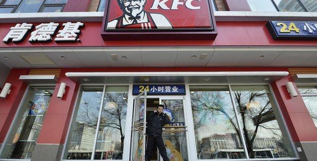 KFC en Chine