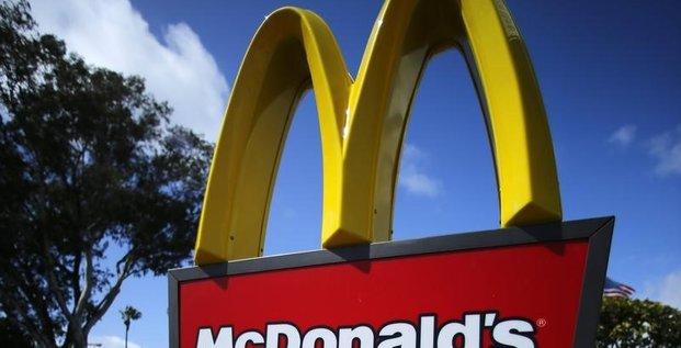 Baisse du bénéfice trimestriel de McDonald's, les USA au ralenti