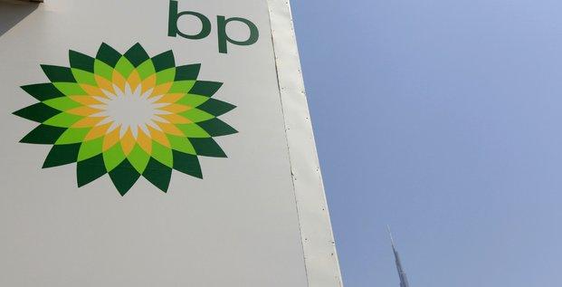 Logo du groupe pétrolier britannique BP