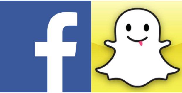 fb vs snapchat