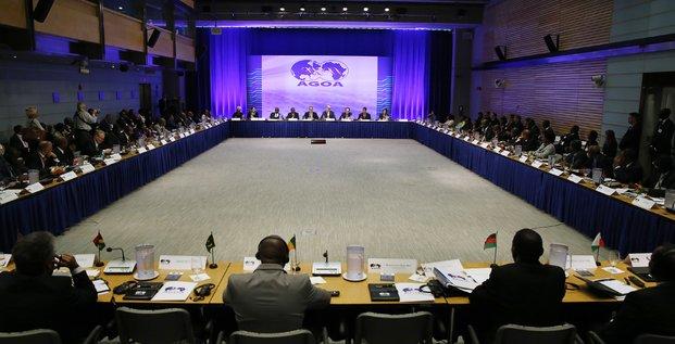 Réunion de l'Agoa lors du sommet États-Unis/Afrique à Washington