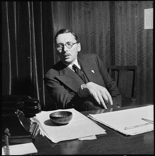 René Pleven, ministre des Finances en décembre 1945.