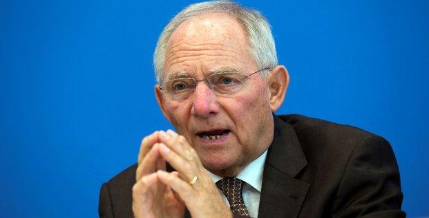 Schäuble juge les propos de Draghi sur l'austérité surinterprétés