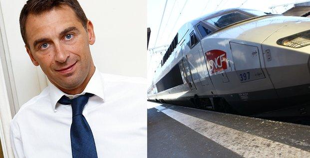 Olivier Sadran, PDG de Newrest l'entreprise toulousaine