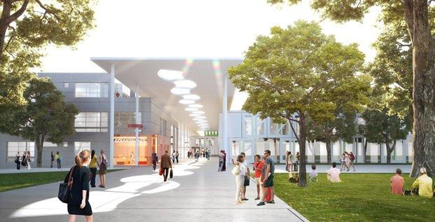 Futur campus du Mirail
