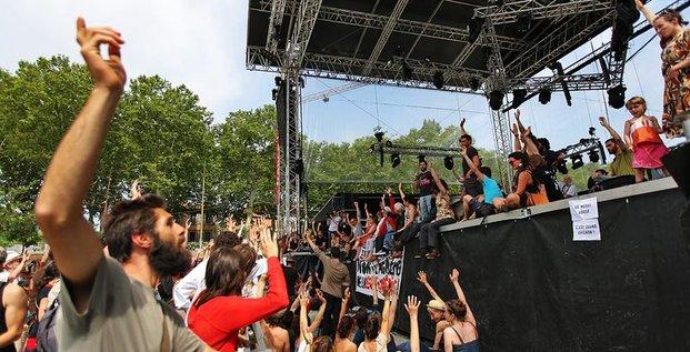 Les intermittents et précaires ont décidé ce matin de bloquer la tenue du festival aujourd'hui