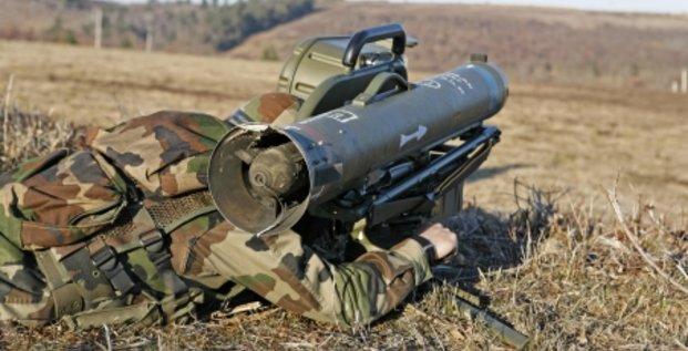 MBDA missile Milan ER