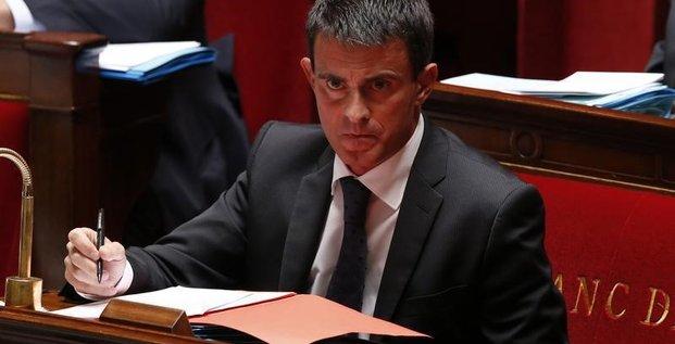 Nouveau vote de confiance pour Manuel Valls