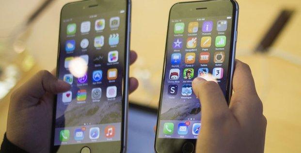 Apple vend 10 millions d'iPhone 6 et 6 Plus le premier week-end