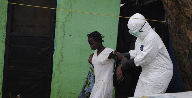 Ebola pourrait toucher 20.000 personnes d'ici novembre