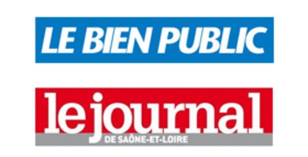 Logotypes du Journal de Saône-et-Loire et du Bien public