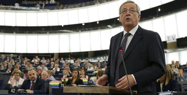Jean-Claude Juncker adoubé à la tête de la Commission européenne