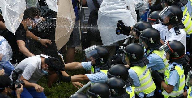 Hong Kong manif parapluies 09;2014