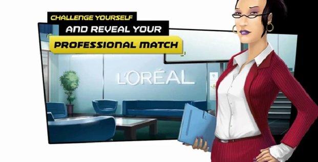 serious game l'oréal