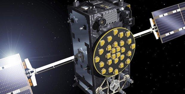 Galileo satellite FOC recadre