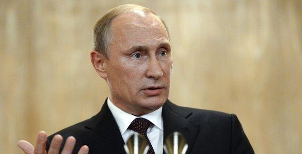 Vladimir Poutine voulait partager l'Ukraine dès 2008