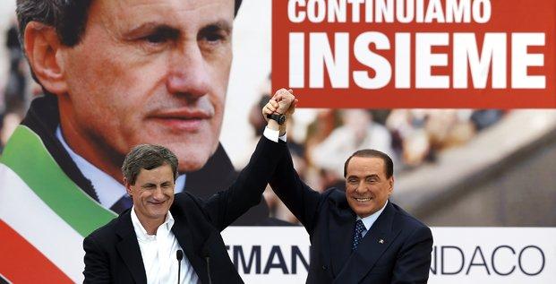 Gianni Alemanno Rome Berlusconi