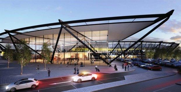 Futur terminal T1 Saint Exupéry