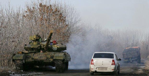 Est ukraine russie tank