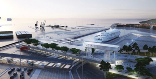 Future gare maritime de Sète