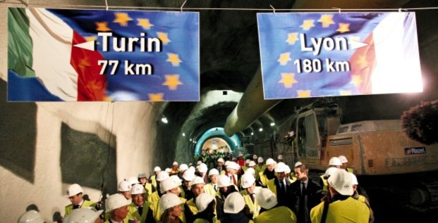 Lyon-Turin Italie