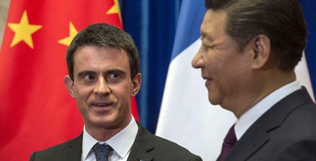 Valls en Chine
