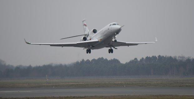 Falcon 8X Dassault Aviation 1er vol
