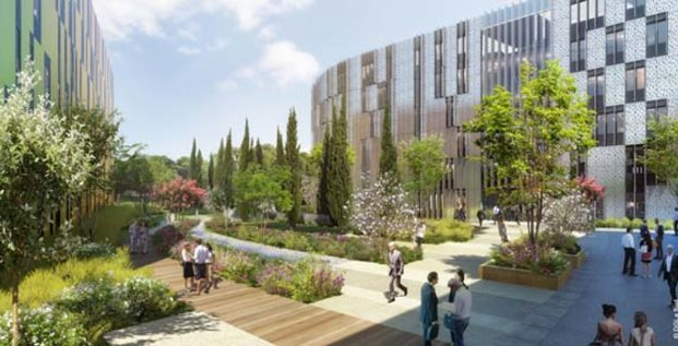 Le complexe Asset Center accueilera 1 200 salariés