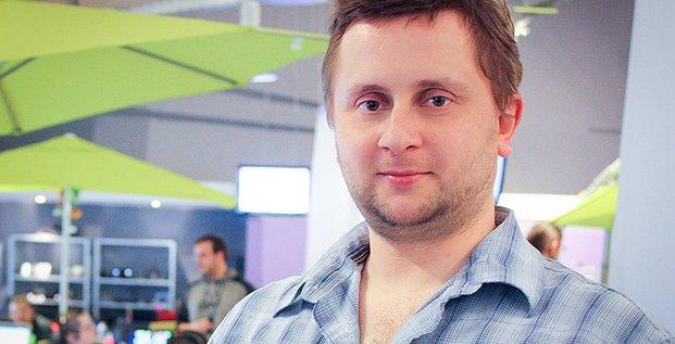 Octave Klaba, fondateur d'OVH et désormais directeur technique