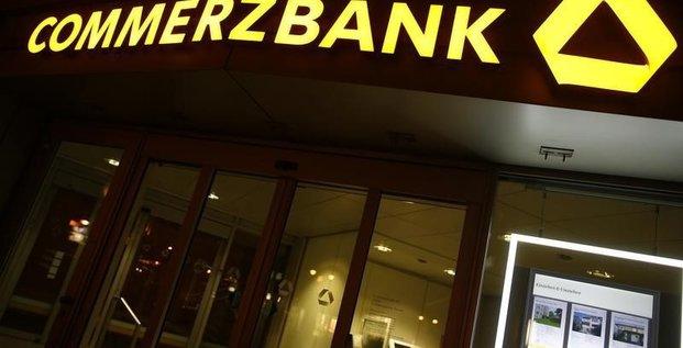 Hausse du benefice net de commerzbank au 4e trimestre