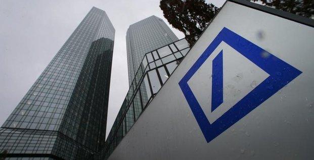 Deutsche bank va devoir verser $2,5 milliards d'amende