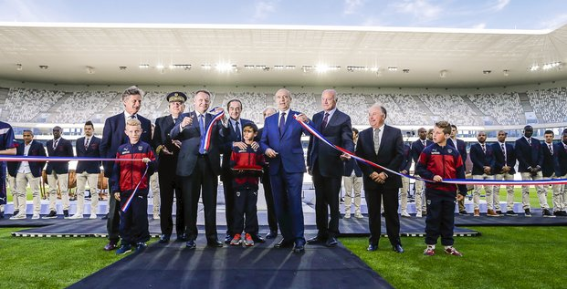 Inauguration nouveau stade bordeaux