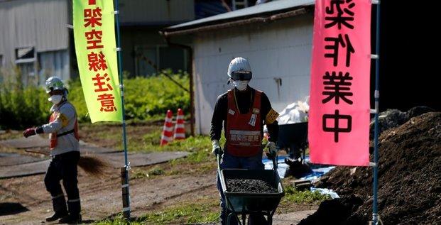 Le gouvernement japonais pour le retour des habitants a fukushima dans deux ans