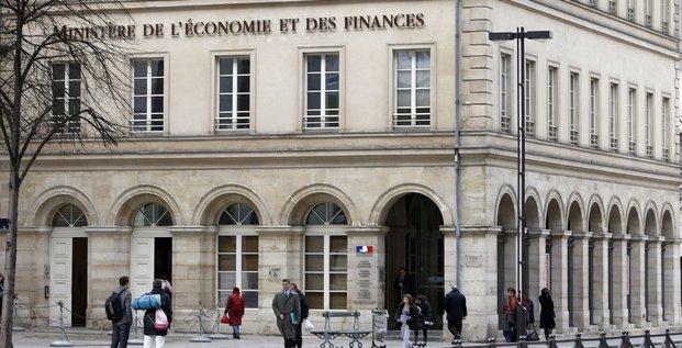 Le ministère de l'Economie et des Finances de Bercy