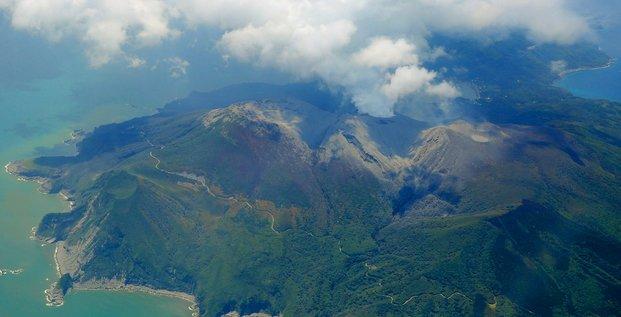 japon éruption volcan