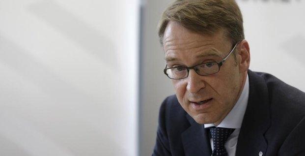 Jens weidmann estime que le risque d'un defaut grec augmente
