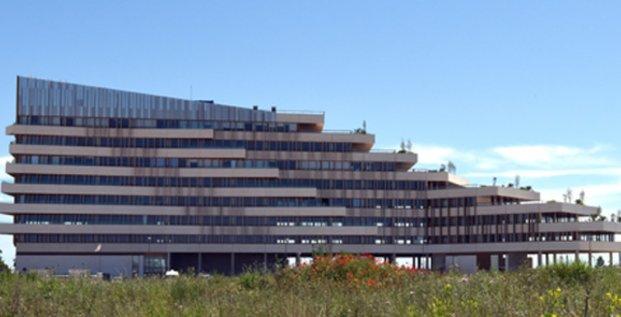 L'immeuble Le Liner (promoteur Les Villages d'Or) à Pérols.