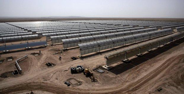 parc solaire marocain Ouarzazate