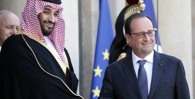 Contrats pour 12 milliards de dollars avec l'arabie saoudite