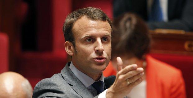 Macron assemblée