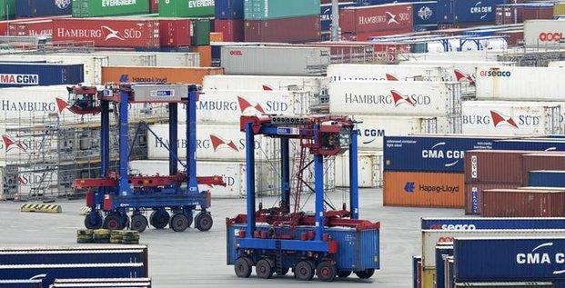 Hausse des exportations allemandes en mai