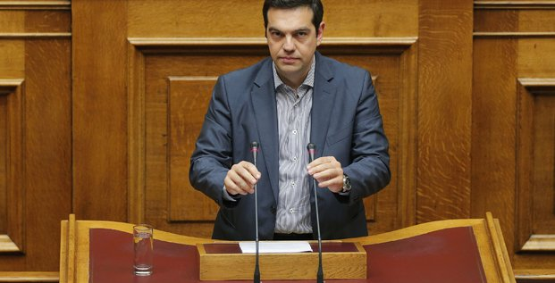 Alexis tsipras demande le soutien du parlement grec