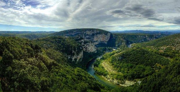 belvedere gorges Ardèche