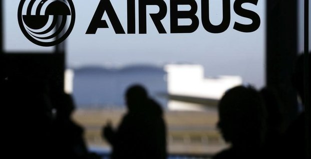 Airbus group et le cac 40 en baisse a la mi-seance