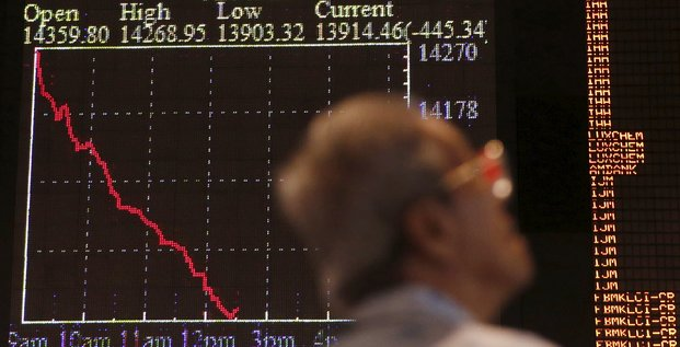 Chine Bourse 2015.08.24
