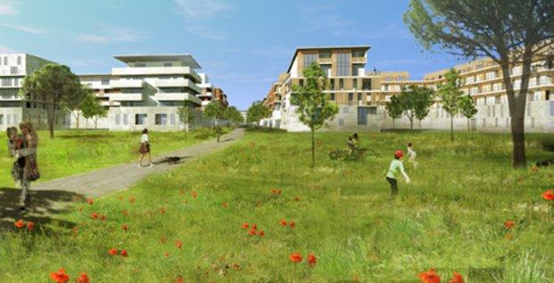 Eurêka, nouveau quartier intergénérationnel à Montpellier.