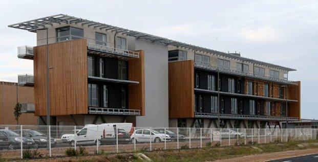Le site se compose de dix ateliers de production et d'un bâtiment tertiaire